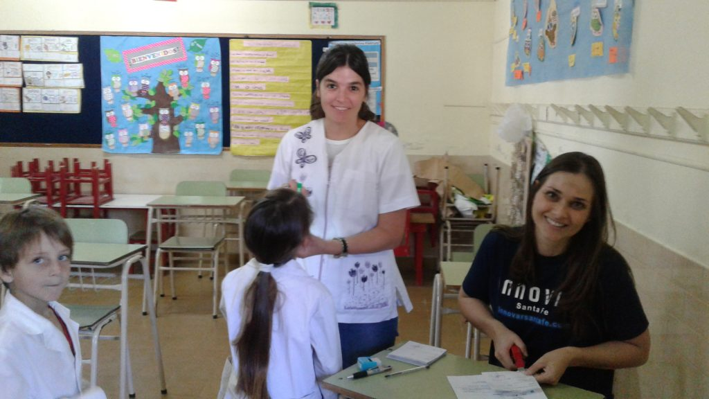 Control odontológico para los niños de Las Tunas.