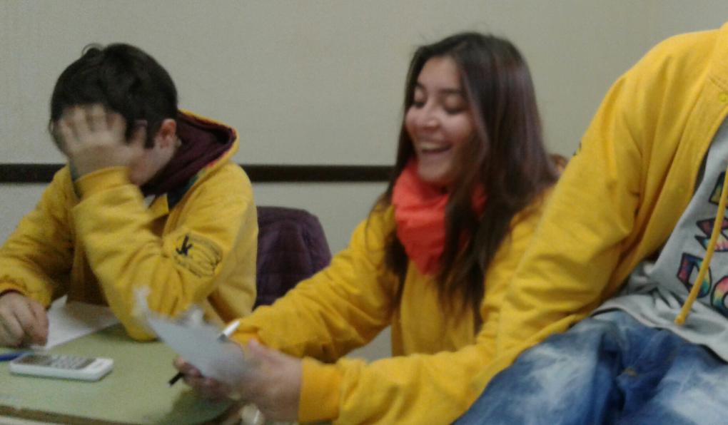 Jóvenes de Grutly participaron de nuestro VOCACcION