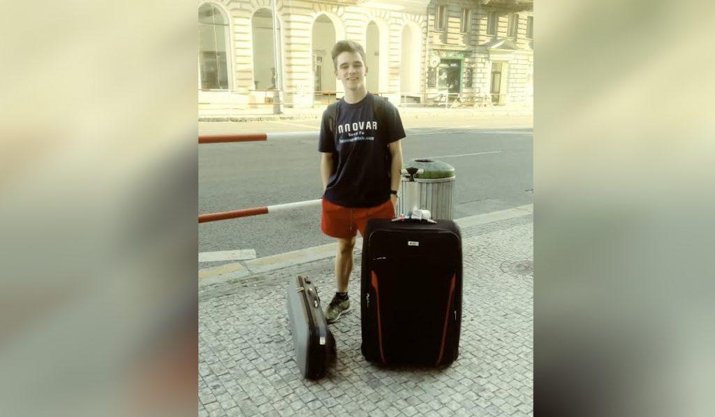 Joaquín inspira desde Praga.