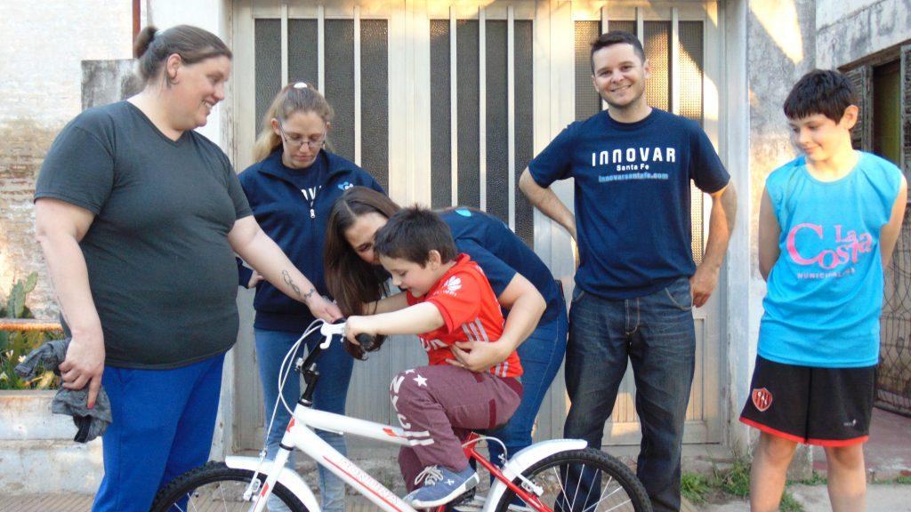 Y Nazareno tiene su Bici!