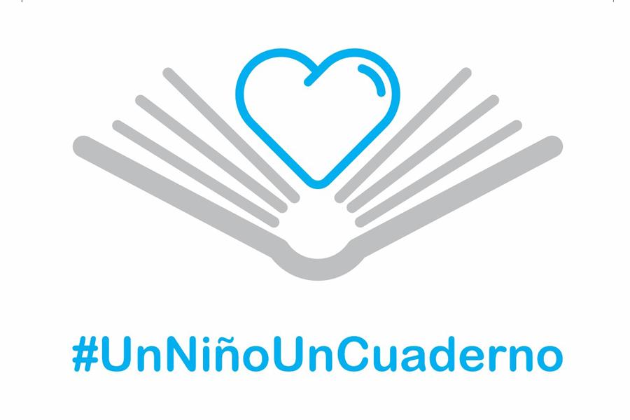 #UnNiñoUnCuaderno